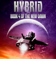 Cover of Hybrid. The survivor of a dead city seeks to undo a disaster.