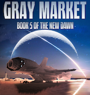 Cover of The Gray Market. The crime bosses of Quin are fighting to buy Amanda Gray.