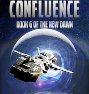 Cover of The Confluence. A mad dictator tries to reach the power of another realm.